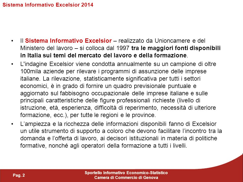 Sistema Informativo Excelsior 2014