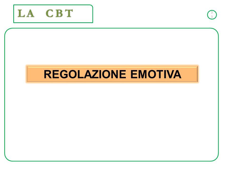 LA CBT 3333 REGOLAZIONE EMOTIVA