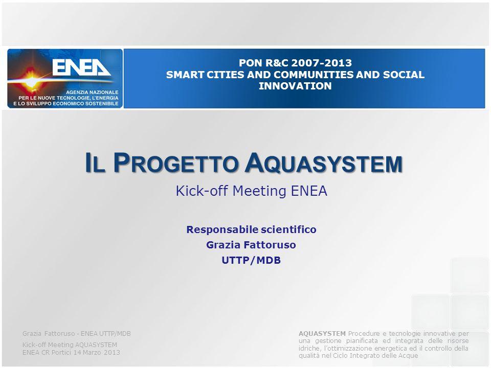 Il Progetto Aquasystem