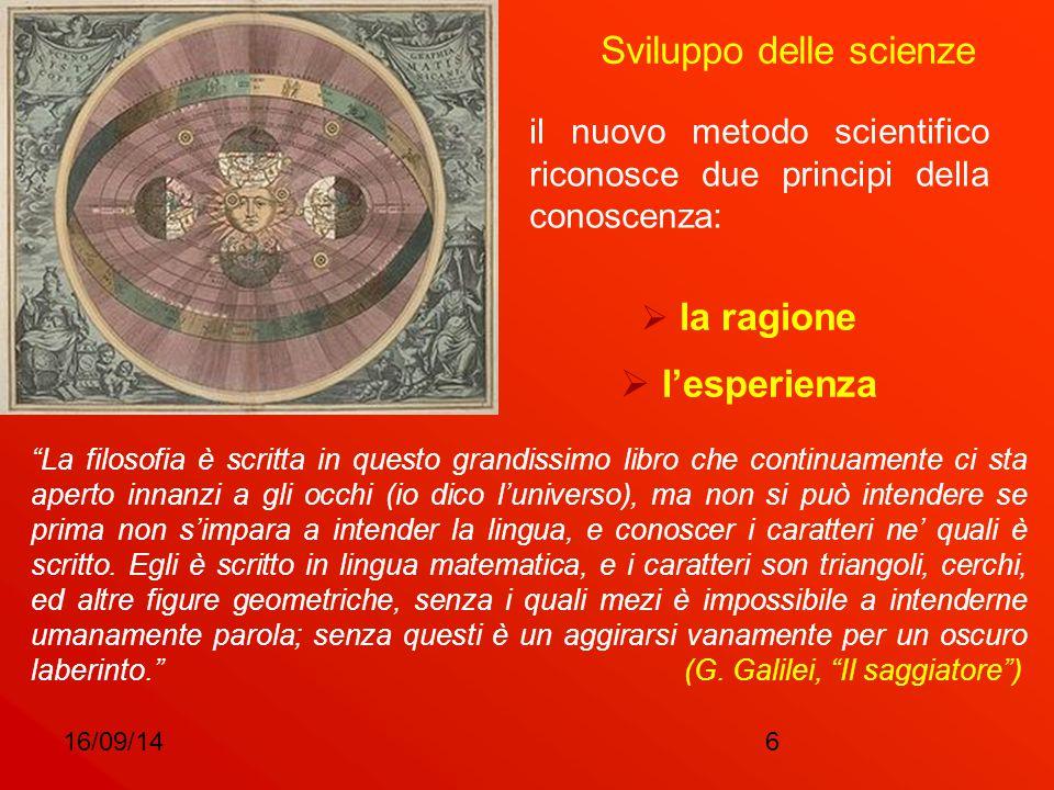 Sviluppo delle scienze