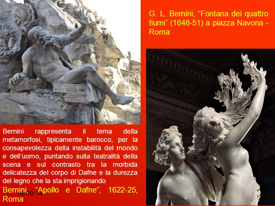 Bernini, Apollo e Dafne , 1622-25, Roma