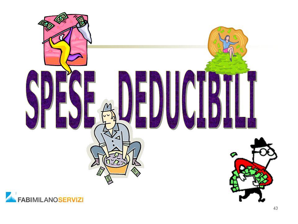 SPESE DEDUCIBILI 43