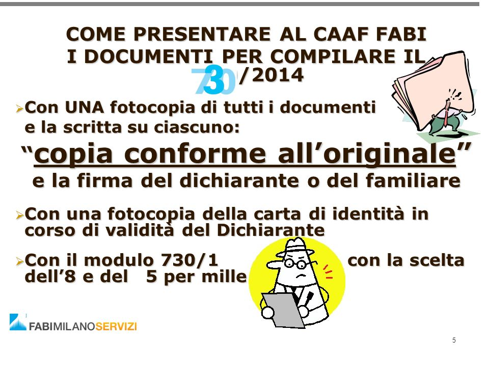 copia conforme all'originale