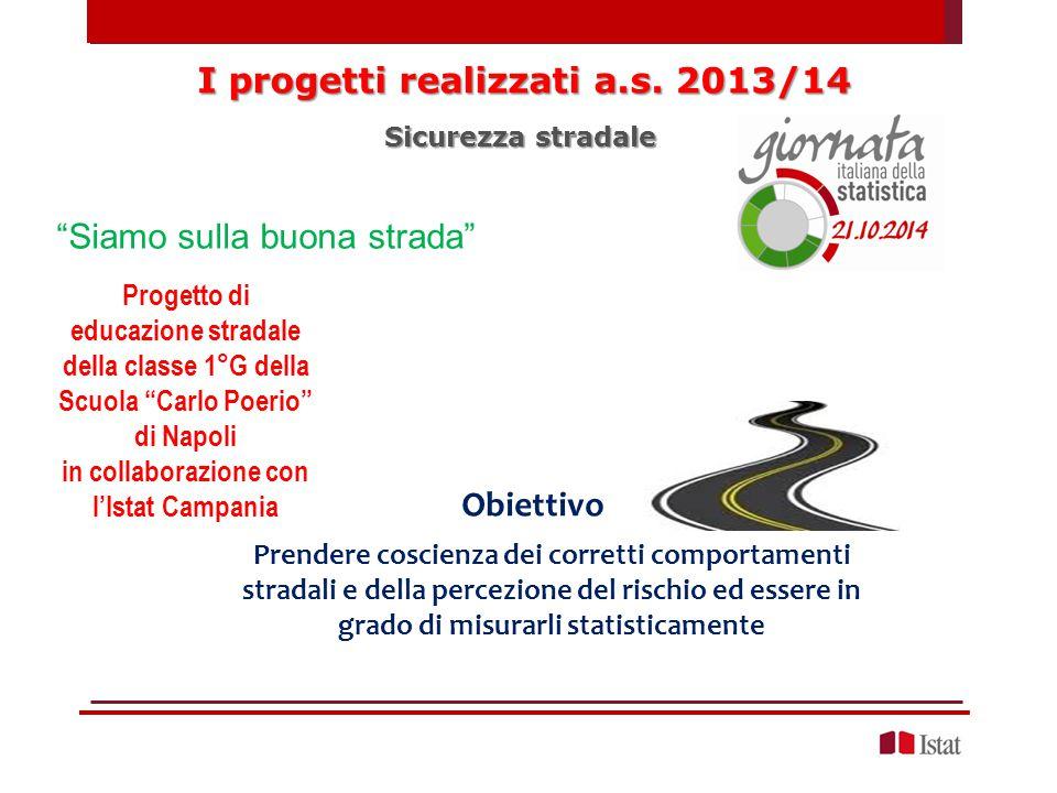 I progetti realizzati a.s. 2013/14