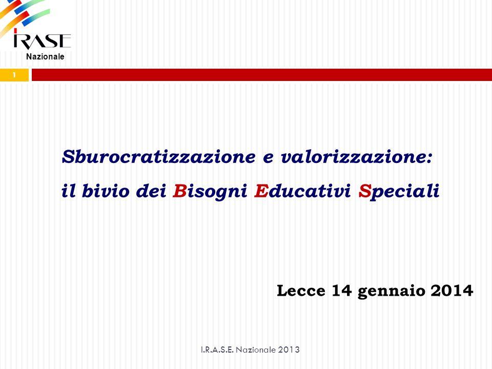 Sburocratizzazione e valorizzazione: