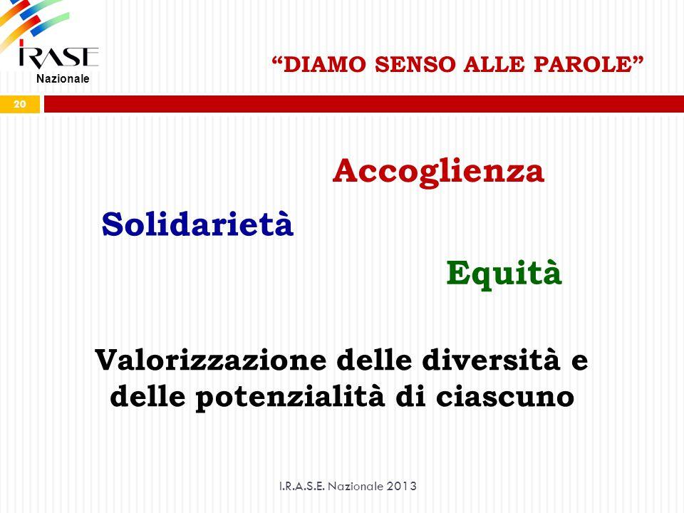 Accoglienza Solidarietà Equità