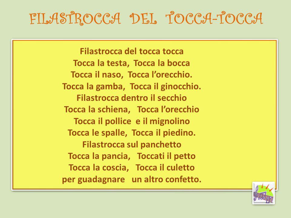 FILASTROCCA DEL TOCCA-TOCCA