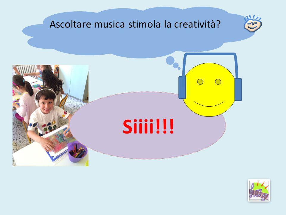 Ascoltare musica stimola la creatività