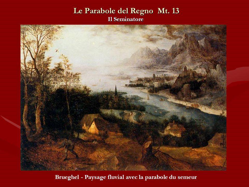 Le Parabole del Regno Mt. 13