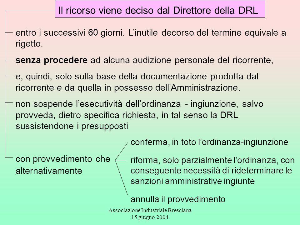 Associazione Industriale Bresciana 15 giugno 2004
