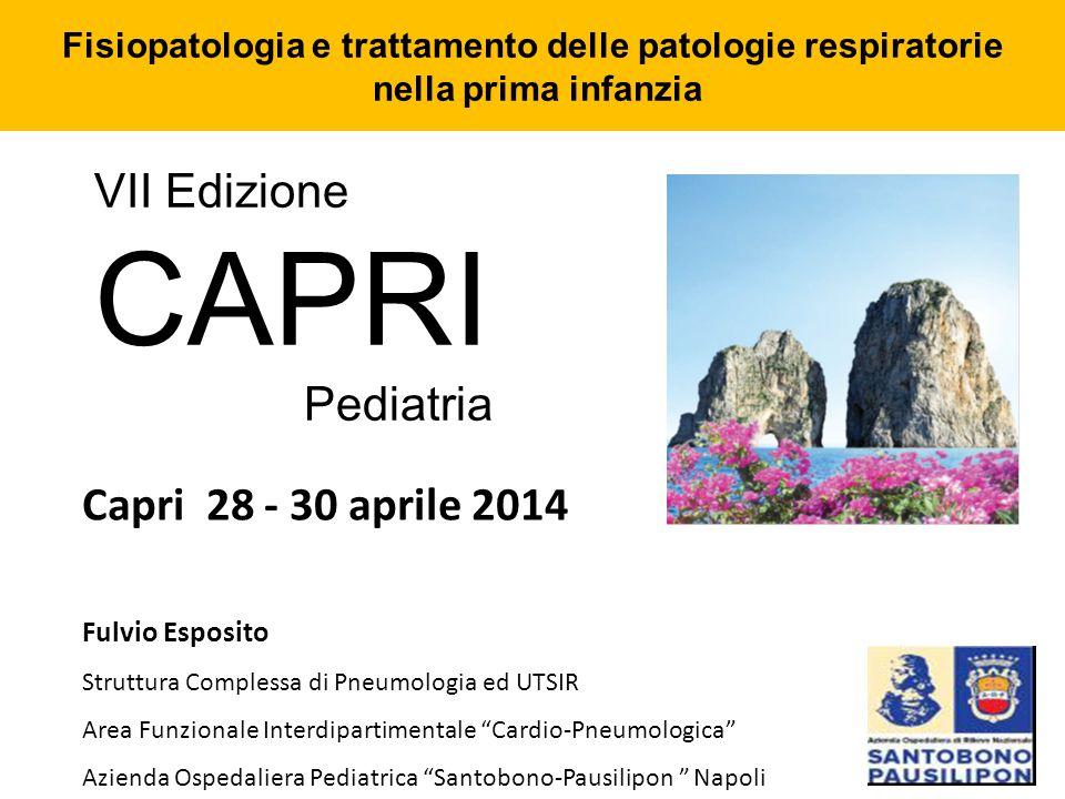 Fisiopatologia e trattamento delle patologie respiratorie