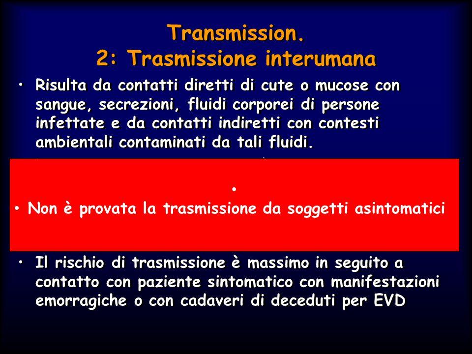 Transmission. 2: Trasmissione interumana