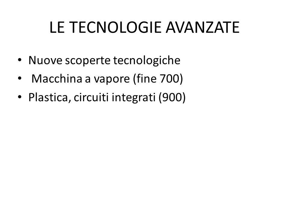 LE TECNOLOGIE AVANZATE