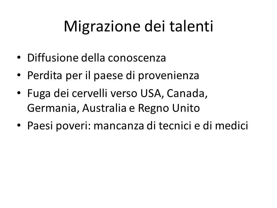 Migrazione dei talenti