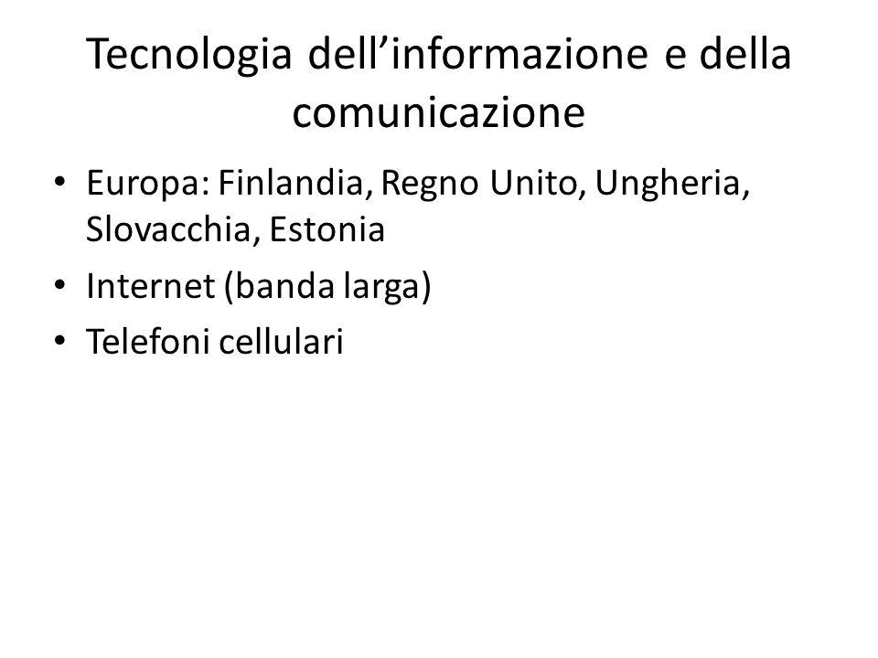 Tecnologia dell'informazione e della comunicazione