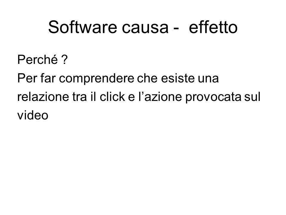 Software causa - effetto