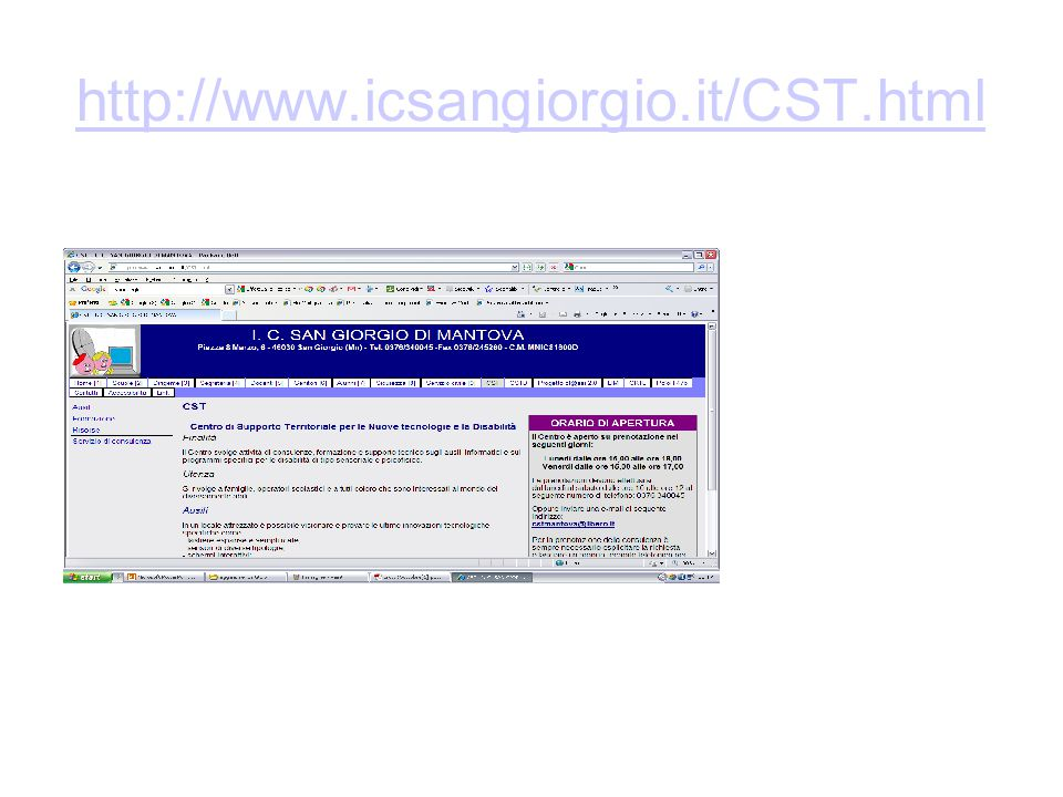 http://www.icsangiorgio.it/CST.html