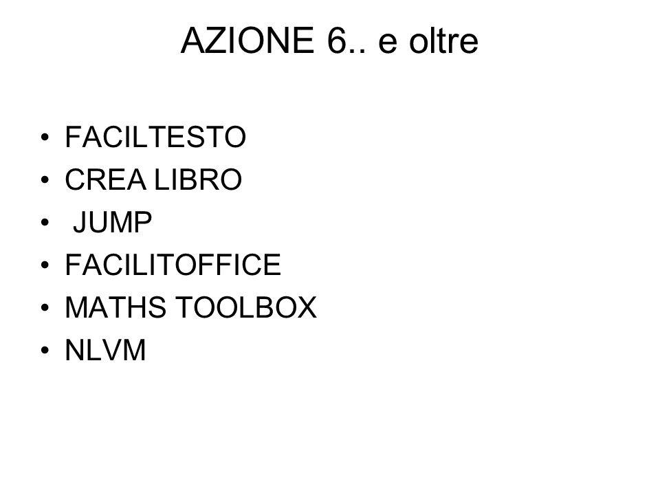 AZIONE 6.. e oltre FACILTESTO CREA LIBRO JUMP FACILITOFFICE