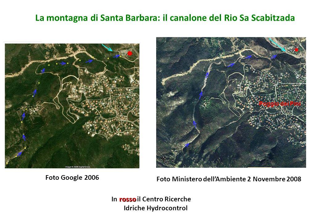 La montagna di Santa Barbara: il canalone del Rio Sa Scabitzada