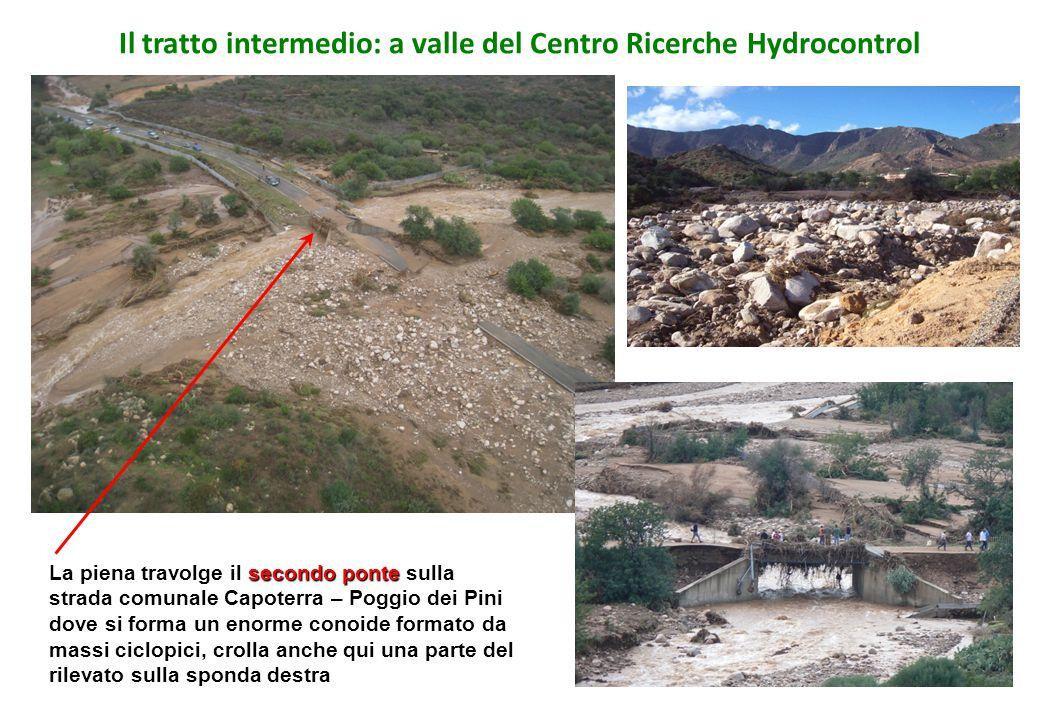 Il tratto intermedio: a valle del Centro Ricerche Hydrocontrol