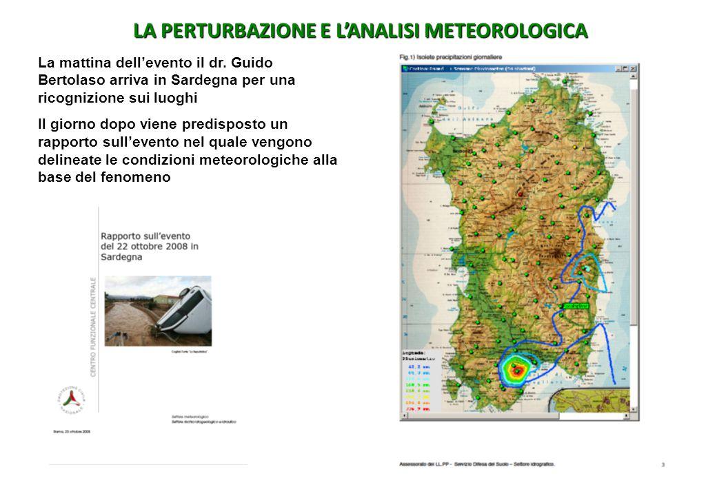 LA PERTURBAZIONE E L'ANALISI METEOROLOGICA