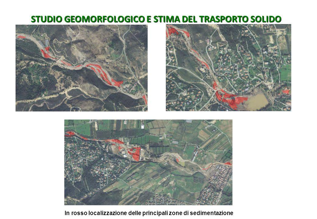 STUDIO GEOMORFOLOGICO E STIMA DEL TRASPORTO SOLIDO