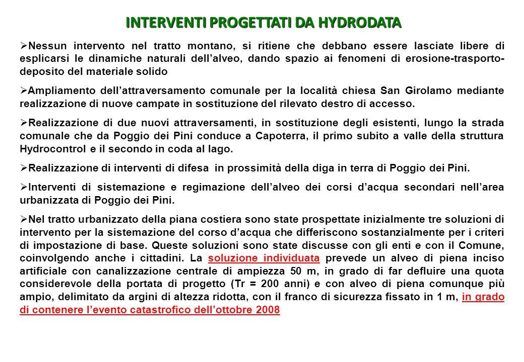 INTERVENTI PROGETTATI DA HYDRODATA