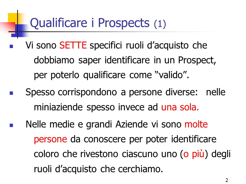 Qualificare i Prospects (1)