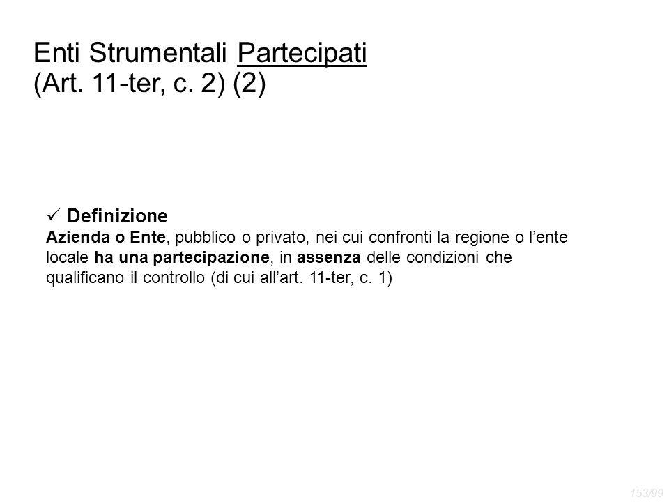Enti Strumentali Partecipati (Art. 11-ter, c. 2) (2)