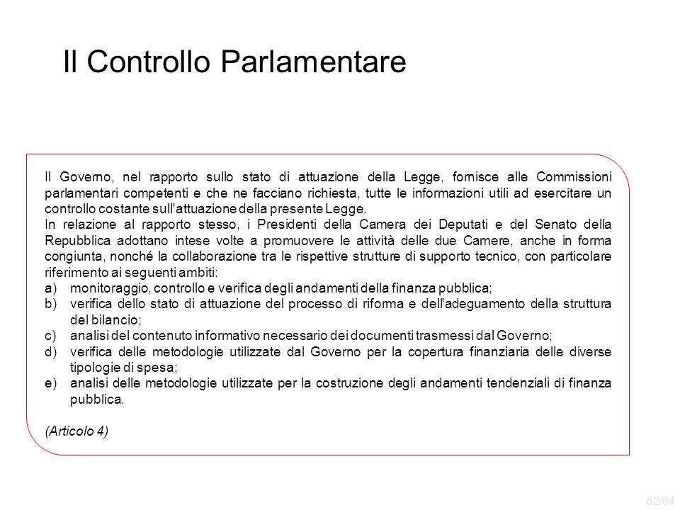 Il Controllo Parlamentare