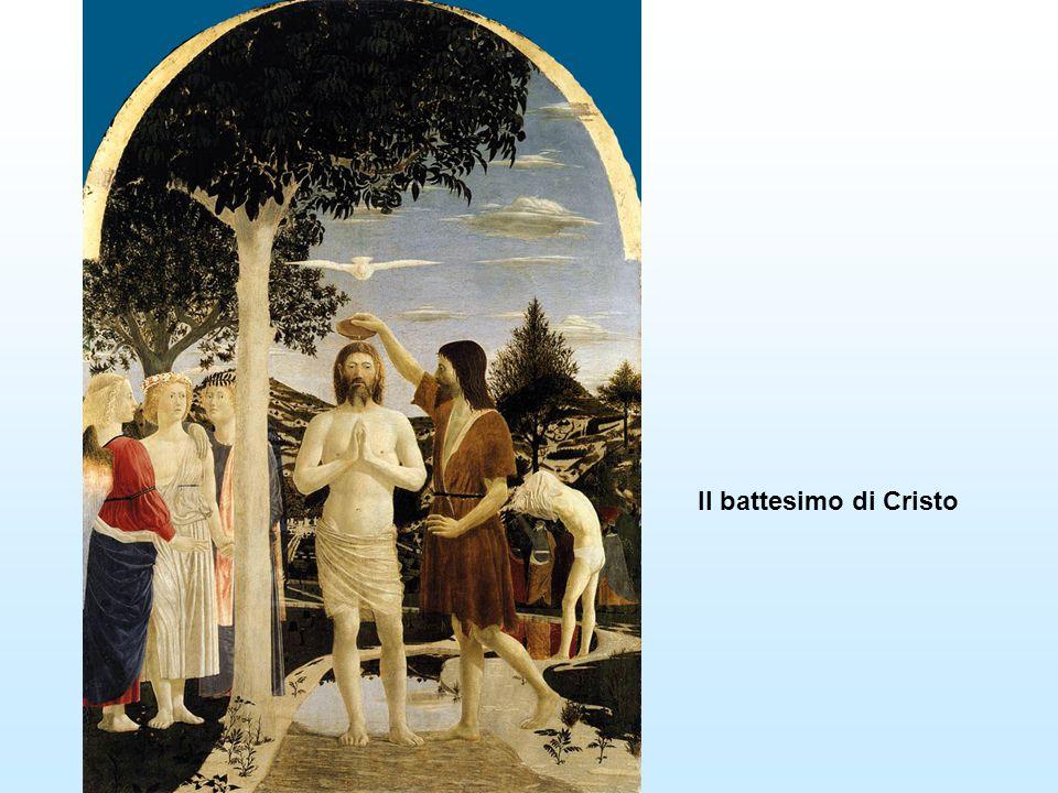 Il battesimo di Cristo