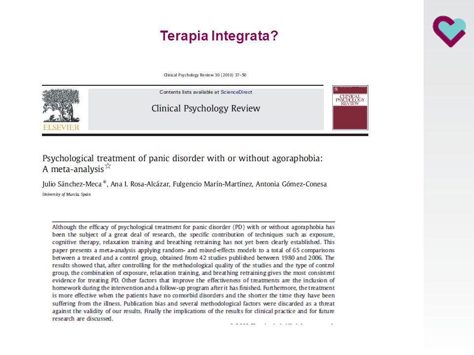 Erba, 23 Giugno 2010 Terapia Integrata