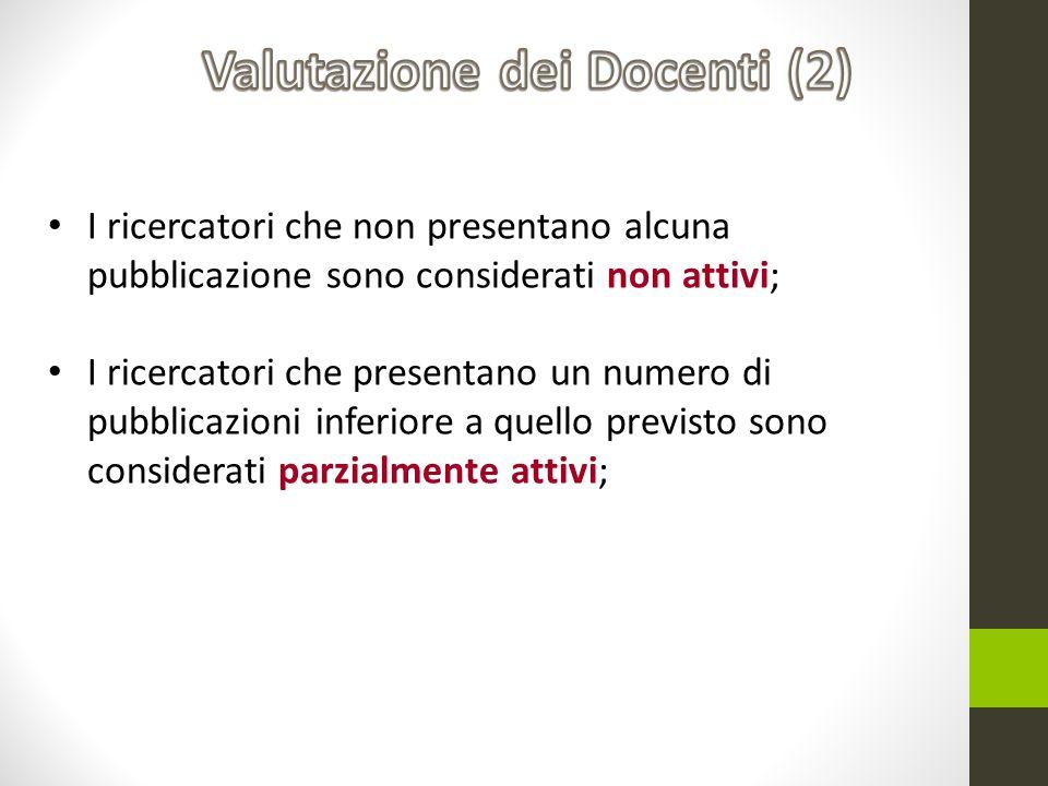 Valutazione dei Docenti (2)