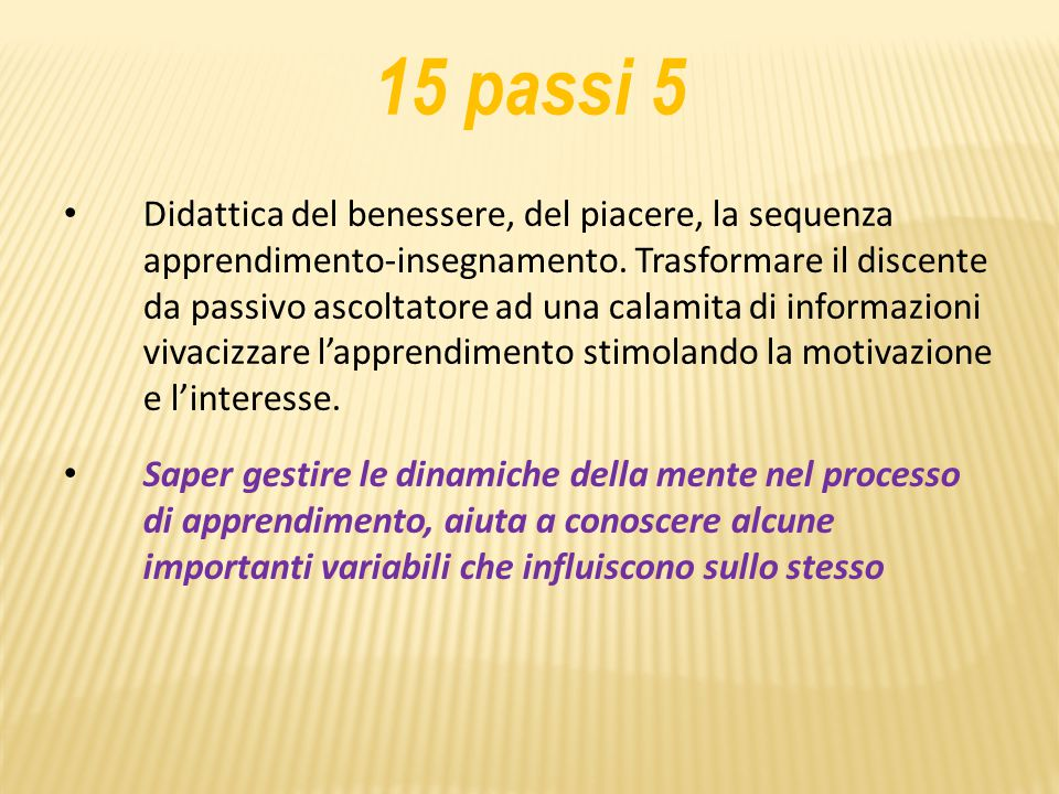 15 passi 5