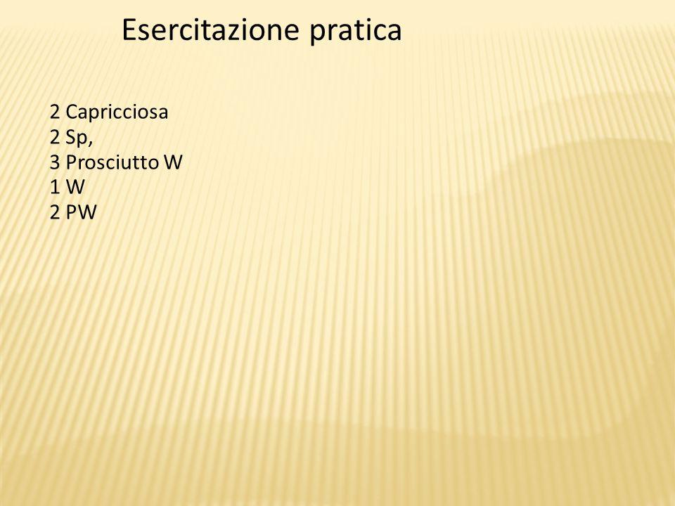 Esercitazione pratica
