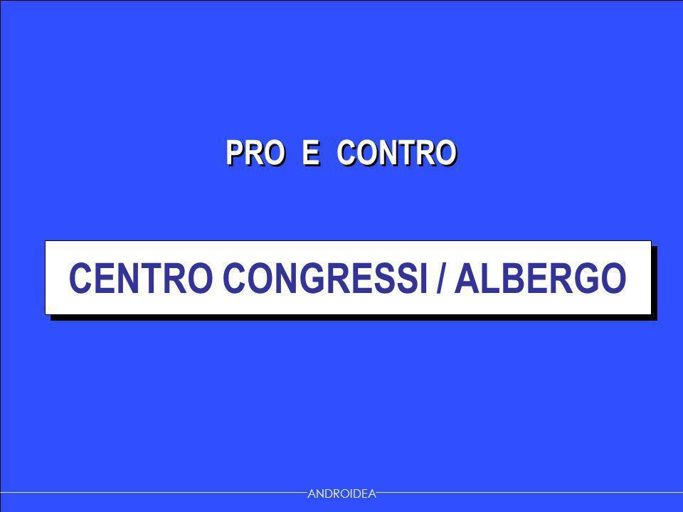 CENTRO CONGRESSI / ALBERGO