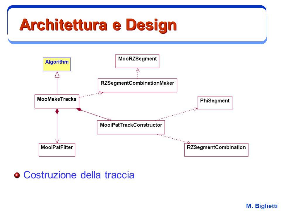 Architettura e Design Costruzione della traccia