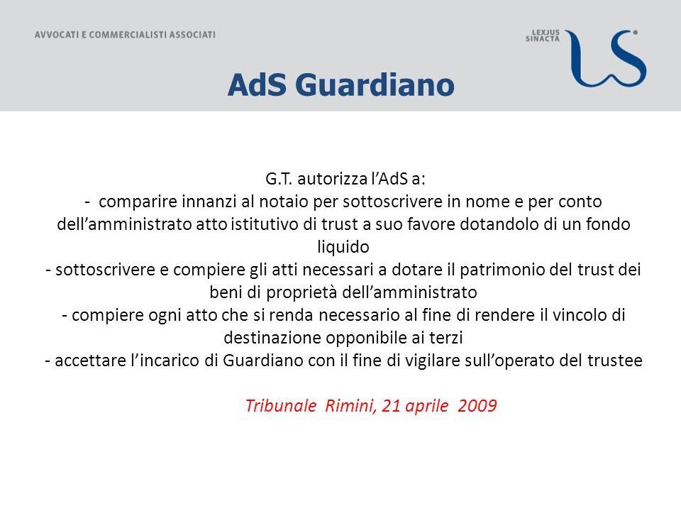 AdS Guardiano