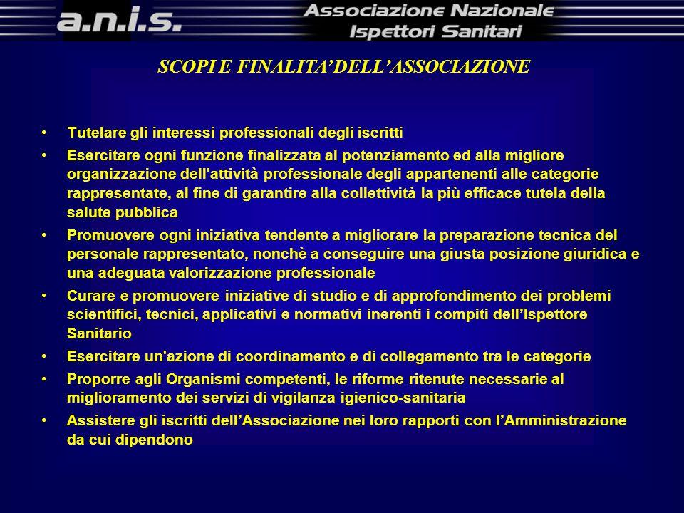SCOPI E FINALITA' DELL'ASSOCIAZIONE