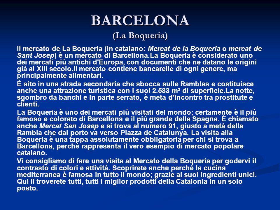 BARCELONA (La Boqueria)