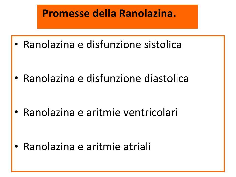 Promesse della Ranolazina.