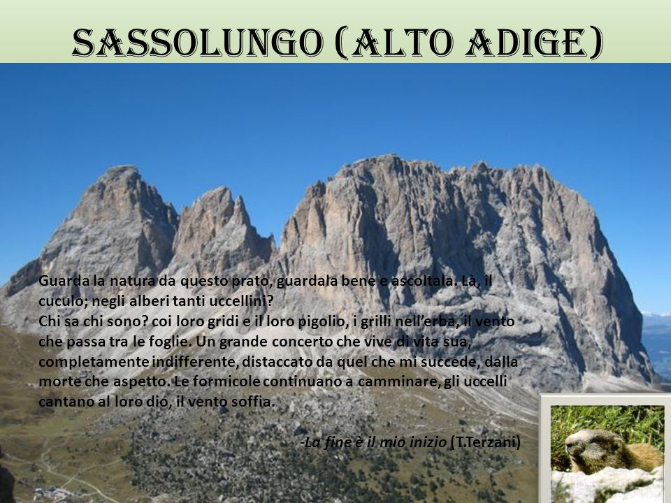 SASSOLUNGO (ALTO ADIGE)