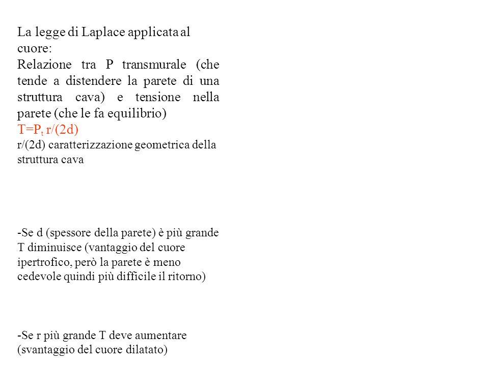 La legge di Laplace applicata al cuore: