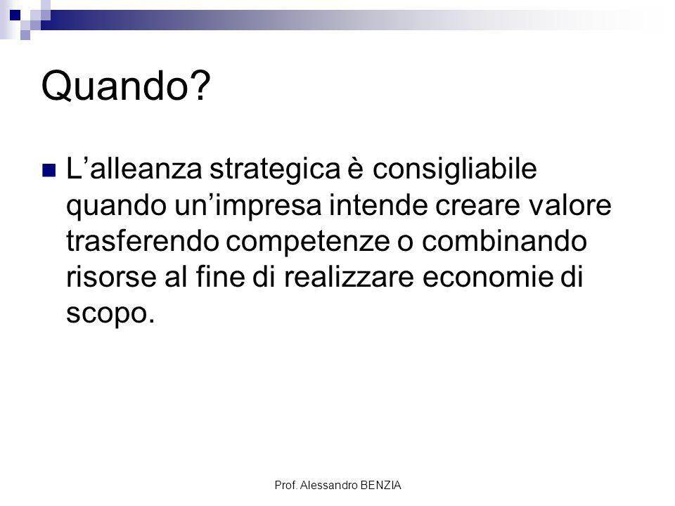 Prof. Alessandro BENZIA