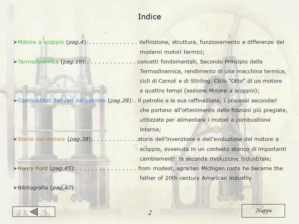 Indice Motore a scoppio (pag.4):. . . . . . . . . . . . . definizione, struttura, funzionamento e differenze dei.