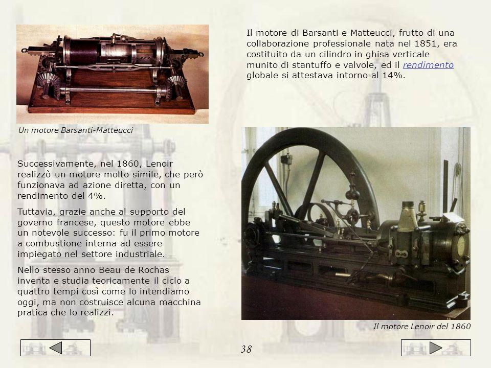 Un motore Barsanti-Matteucci