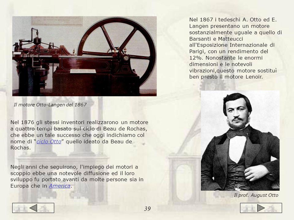 Il motore Otto-Langen del 1867