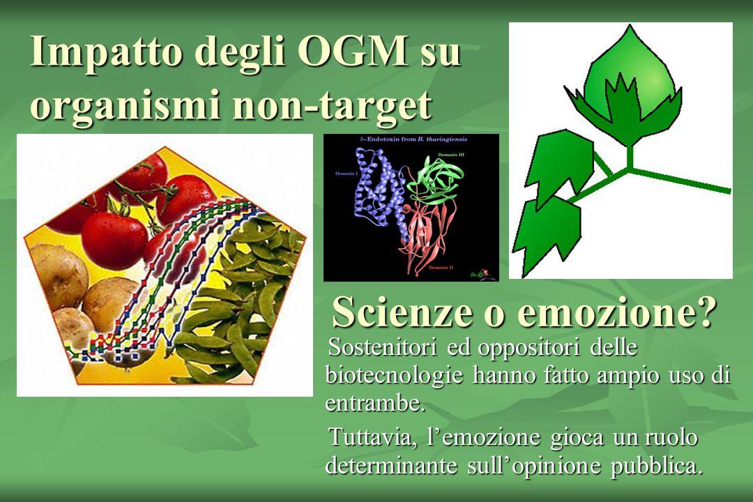 Impatto degli OGM su organismi non-target