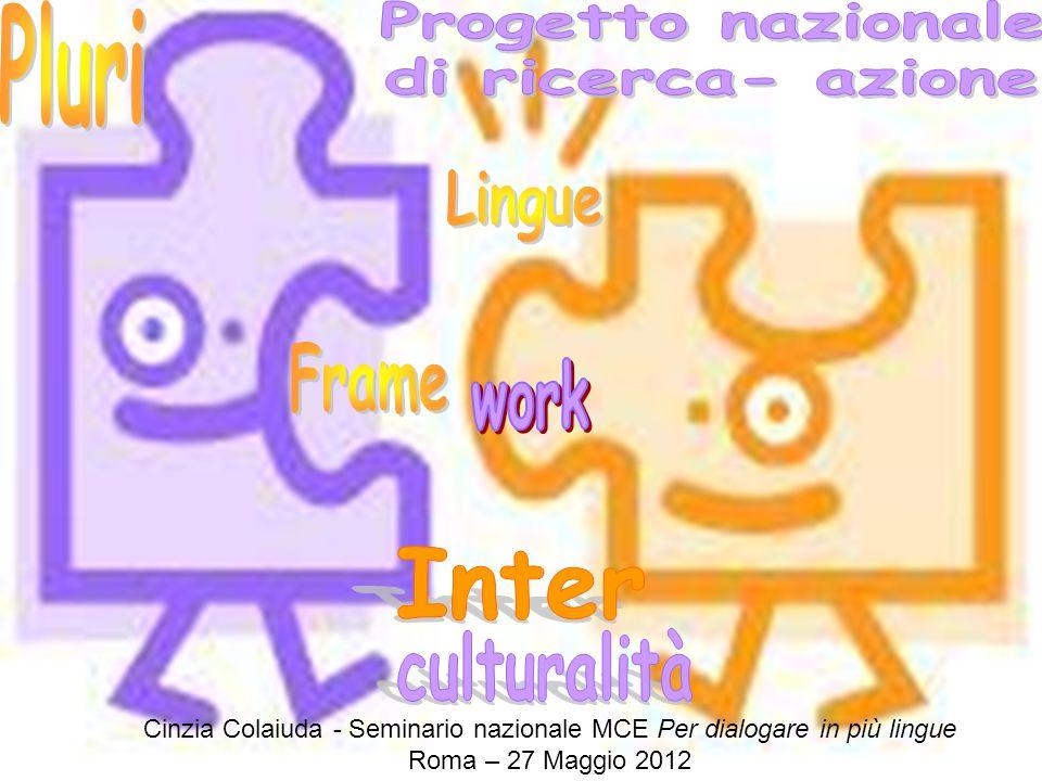 Cinzia Colaiuda - Seminario nazionale MCE Per dialogare in più lingue