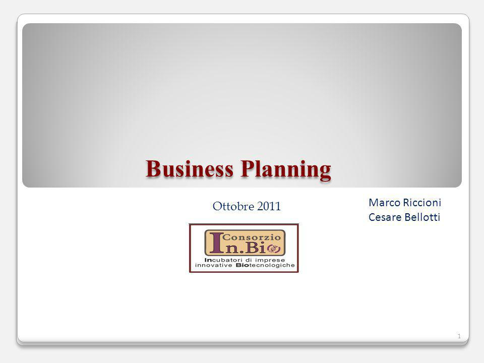 Business Planning Marco Riccioni Cesare Bellotti